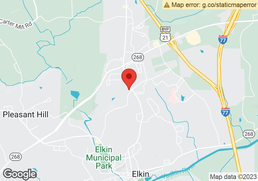 Google Map of 1209 N BRIDGE ST