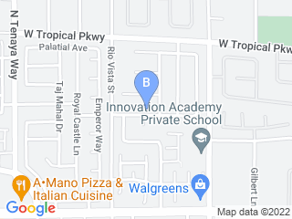 Map of Zookeepers Pet Sitting LLC Dog Boarding options in Las Vegas | Boarding