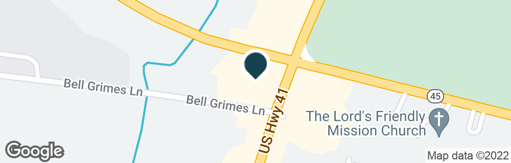 Google Map of3880 DICKERSON PIKE
