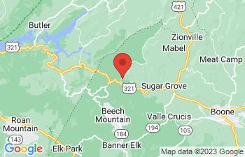 Map of Sugar Grove