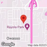 [Owasso YMCA Soccer Field 2 Map]