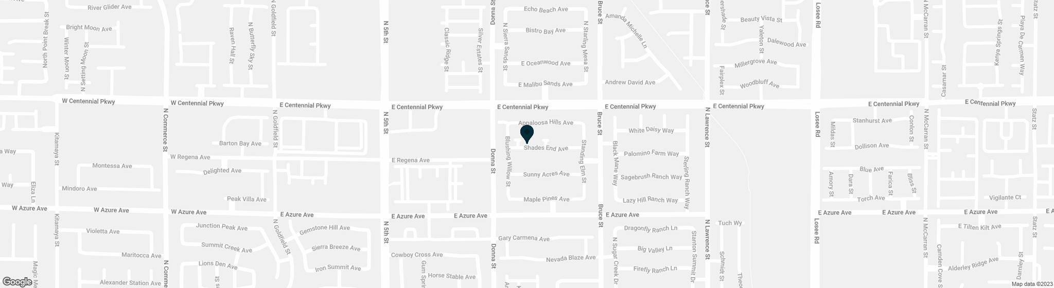 1006  Shades End Avenue North Las Vegas NV 89081