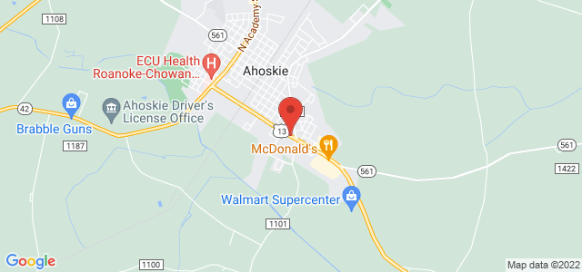 Ahoskie Florist & Gifts, Inc. Map