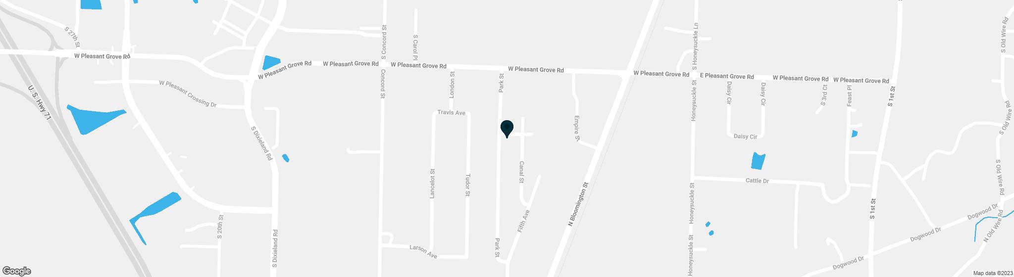 1519  Park Street Lowell AR 72745