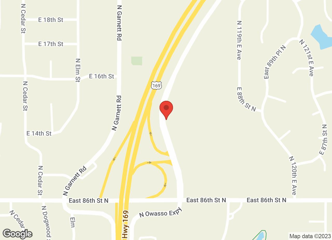 Google Map of VCA Owasso Animal Medical Center