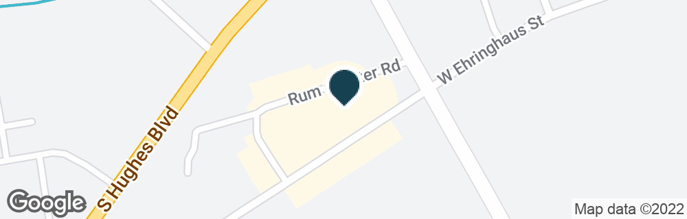 Google Map of1700 W EHRINGHAUS ST