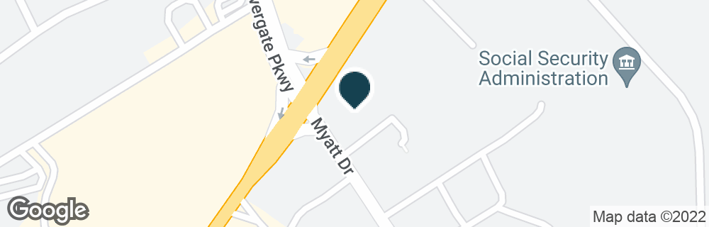 Google Map of1801 GALLATIN PIKE N