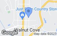 Map of Walnut Cove, NC