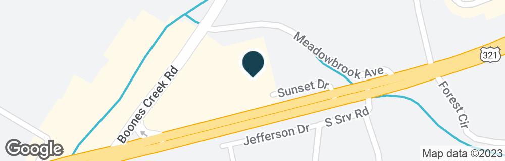 Google Map of531 E JACKSON BLVD