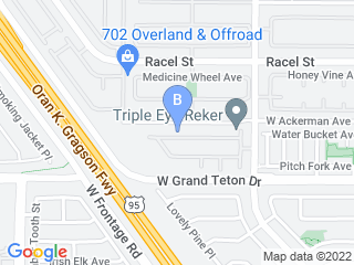 Map of Fetch! Pet Care Las Vegas Dog Boarding options in Las Vegas | Boarding