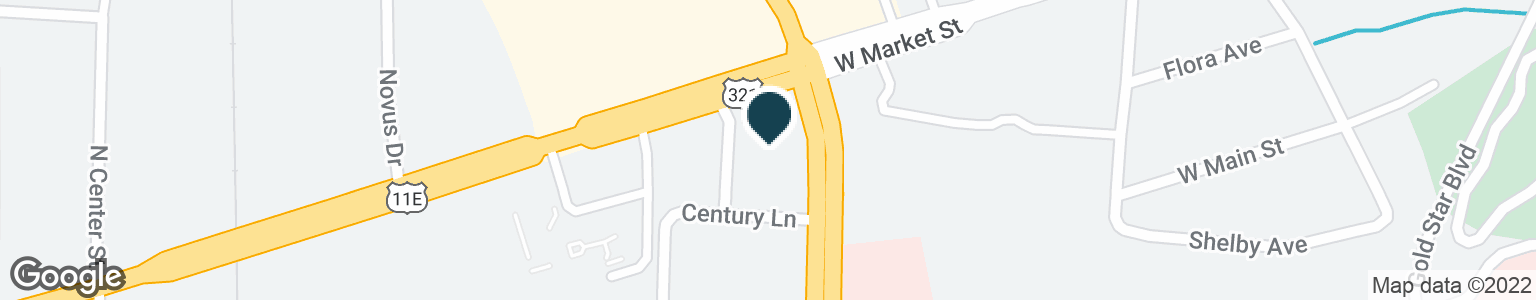Google Map of429 N STATE OF FRANKLIN RD