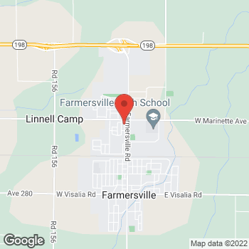 Map of Check `n Go Farmersville Boulevard at 1555 North Farmersville Boulevard, Farmersville, CA 93223