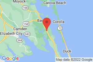Map of Currituck Banks