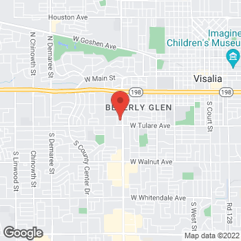 Map of Check `n Go Mooney Boulevard at 1033 South Mooney Boulevard, Visalia, CA 93277