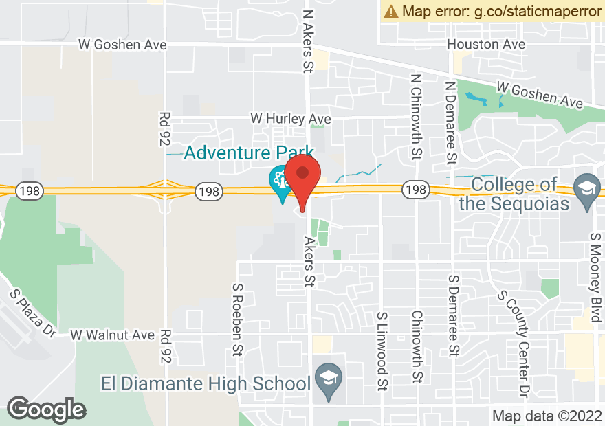 Google Map of 5328 W CYPRESS AVE