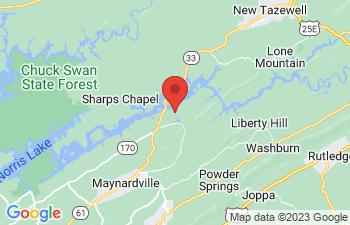 Map of Maynardville