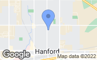 Map of Hanford, CA