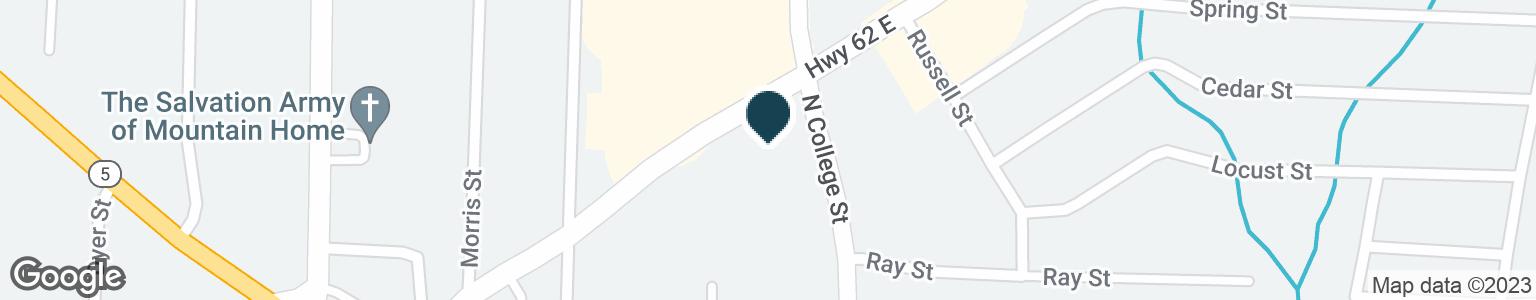 Google Map of350 HIGHWAY 62 E