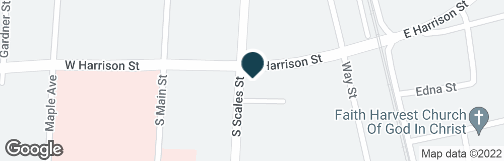 Google Map of603 S SCALES ST