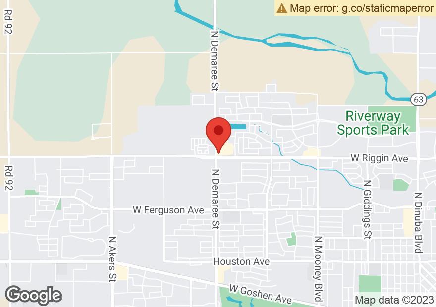 Google Map of 3010 N DEMAREE ST