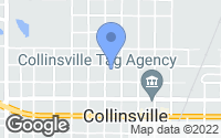 Map of Collinsville, OK