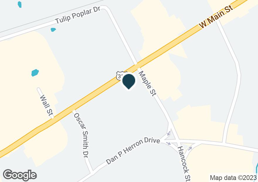 Google Map of585 NASHVILLE PIKE