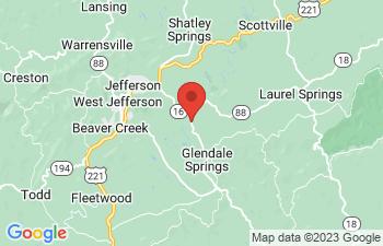 Map of Jefferson