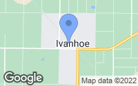 Map of Ivanhoe, CA