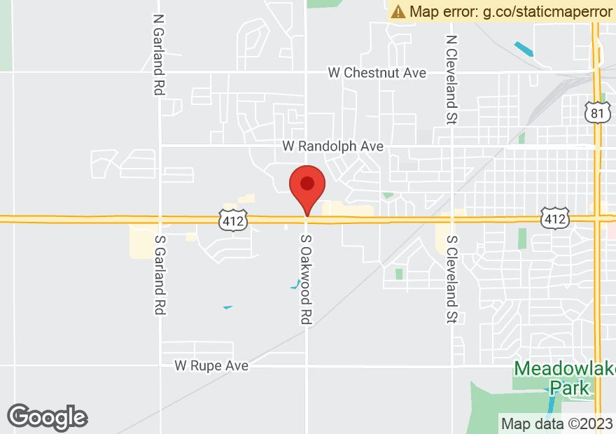 Google Map of 3915 W OWEN K GARRIOTT RD