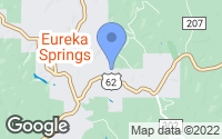 Map of Eureka Springs, AR