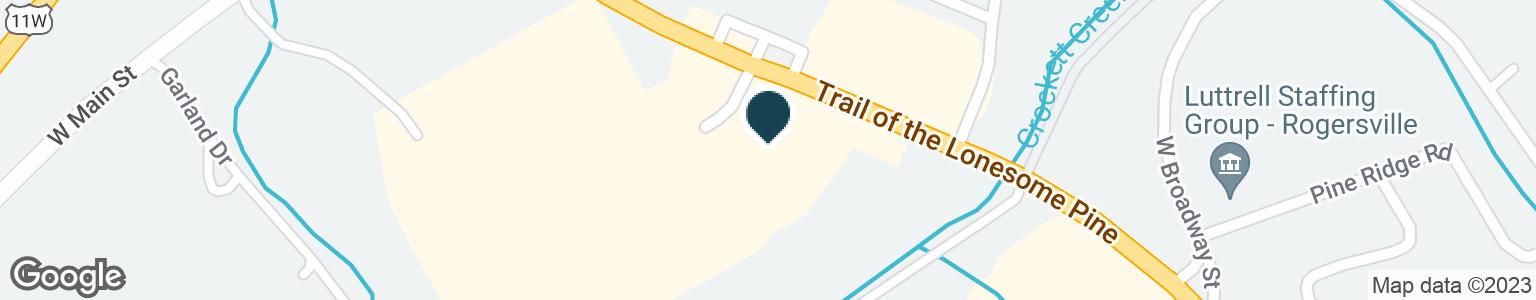 Google Map of4325 HIGHWAY 66 S