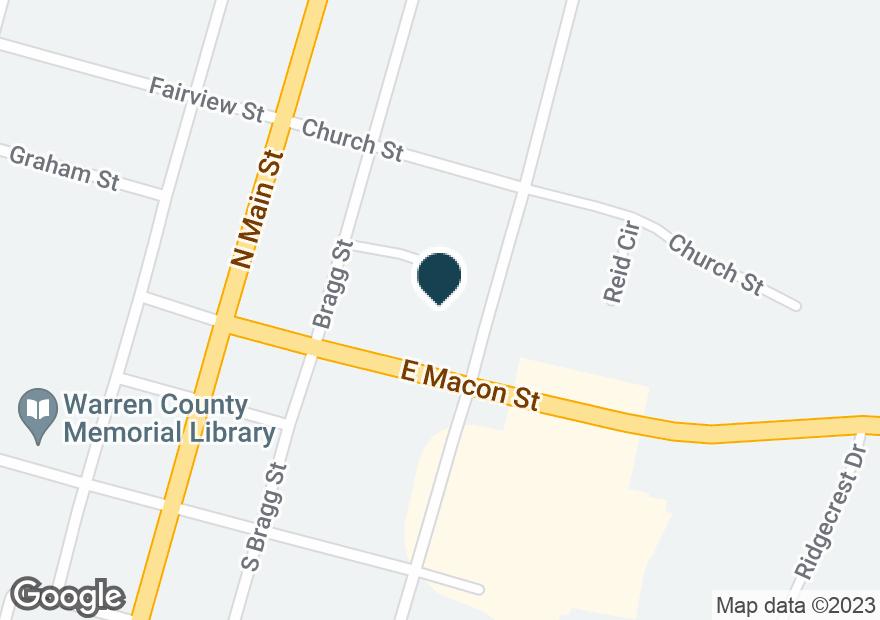 Google Map of126 E MACON ST