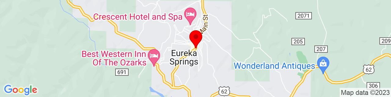 Google Map of 36.4026248, -93.7359594