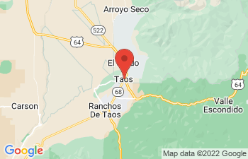 Map of Taos
