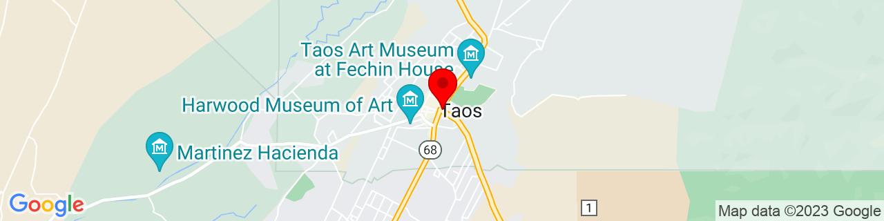 Google Map of 36.4072485, -105.5730665