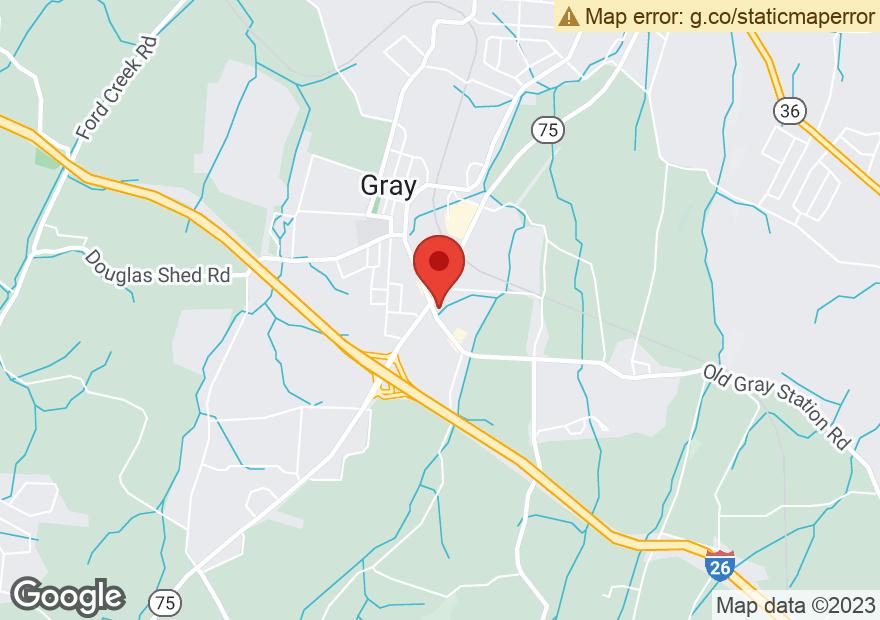 Google Map of 5104 BOBBY HICKS HWY