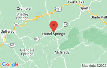 Map of Laurel Springs