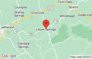 Map of Laurel Springs