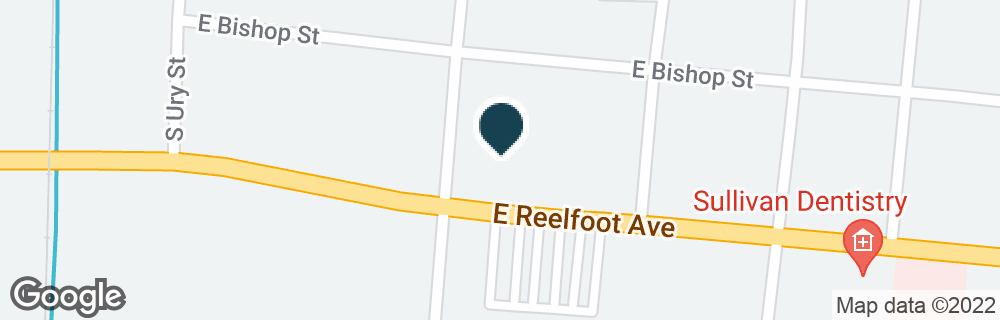 Google Map of700 E REELFOOT AVE