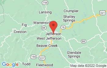 Map of Jefferson