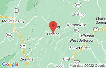 Map of Creston