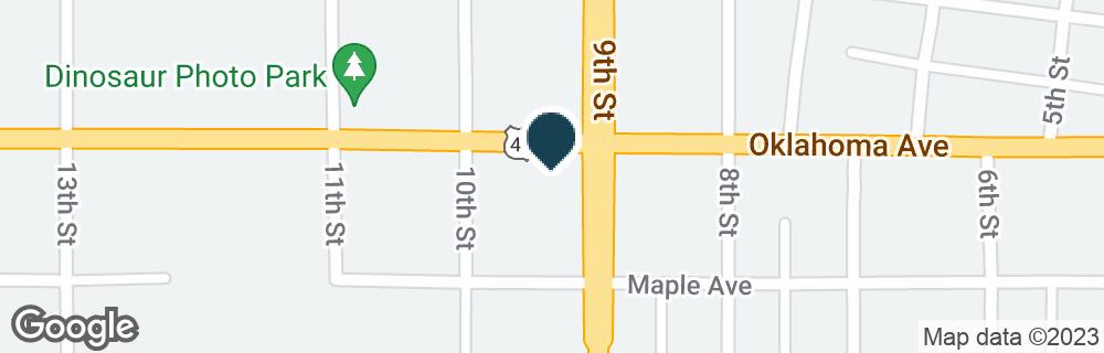 Google Map of901 OKLAHOMA AVE