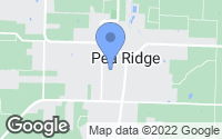Map of Pea Ridge, AR