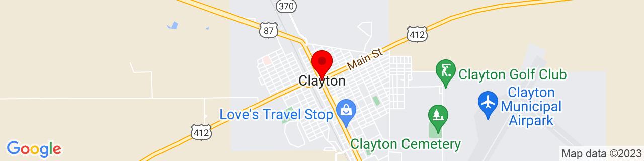 Google Map of 36.451693, -103.1841039