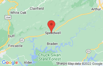 Map of Speedwell