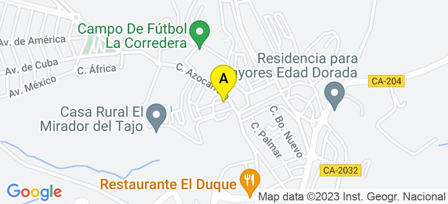 situacion en el mapa de . Direccion: Calle Goya 1A, 11170 Medina-Sidonia. Cádiz