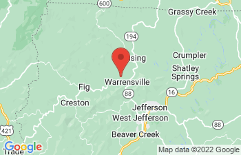 Map of Warrensville