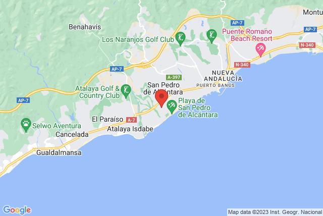 BASI Pilates Spain Map