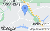 Map of Bella Vista, AR