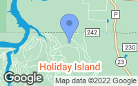 Map of Holiday Island, AR